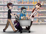 In the Mall (Sanders Sides)