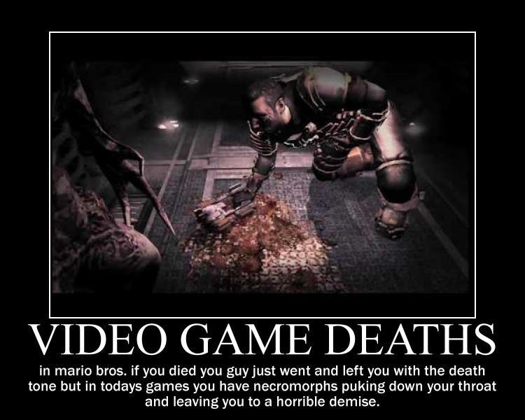 video game deaths