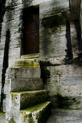 Door and Stairs by borabalbey
