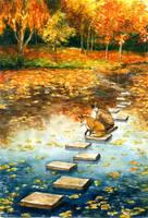 Autumn-ish Friend by sherrae78