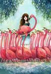 Fla-fla-flamingo