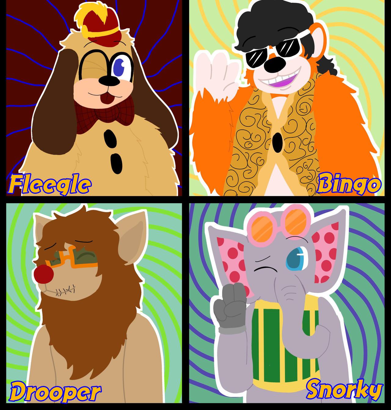Amazon.com: Funko Tra La La Pop Fleegle, Bingo, Drooper and Stormy Vinyl  4-Pack Banana Splits Sid and Marty Krofft TV Show Retro Figure Colelctibles  Exclusive SDCC '60s Hanna-Barbera Series: Toys & Games