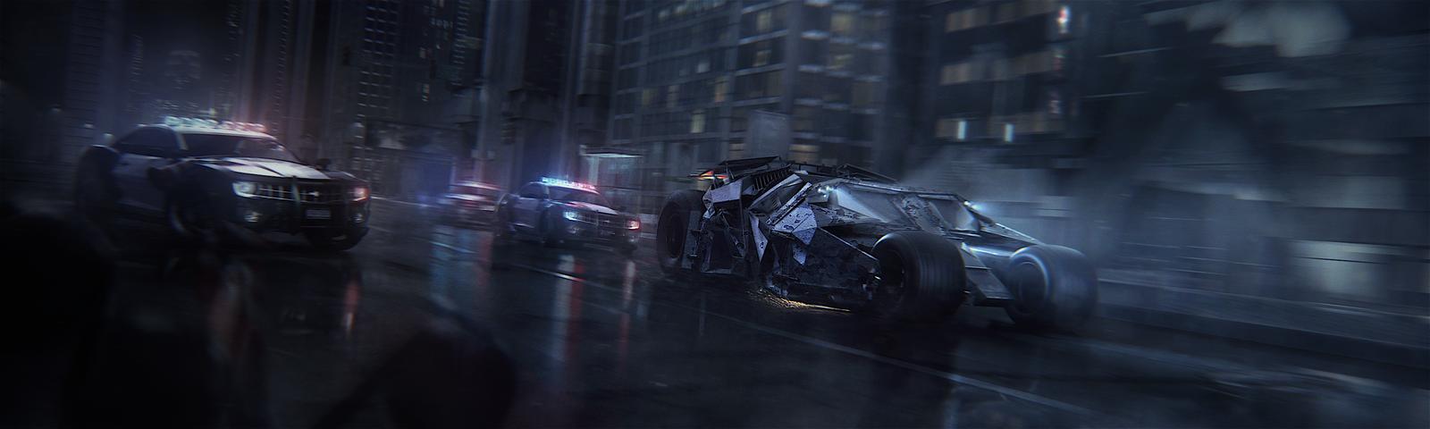 Dark Knight by Drake1024