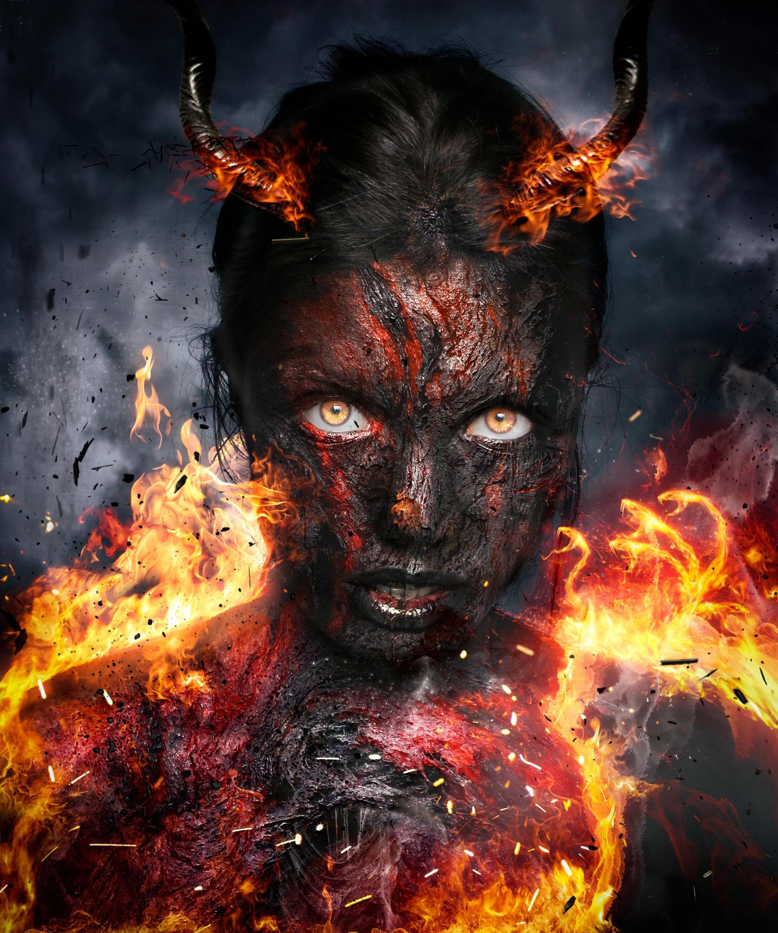 Full Demon Form By Diego