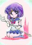 ACEO: Chibi Sailor Saturn