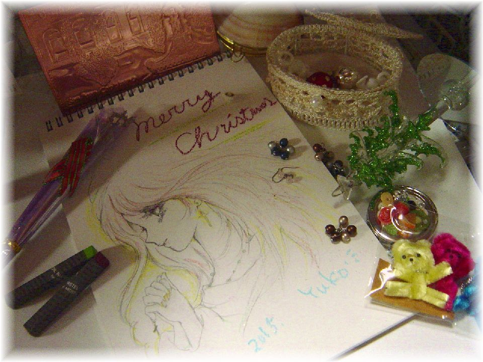 Christmas greeting from Yuko2015 by Yuko-Rann