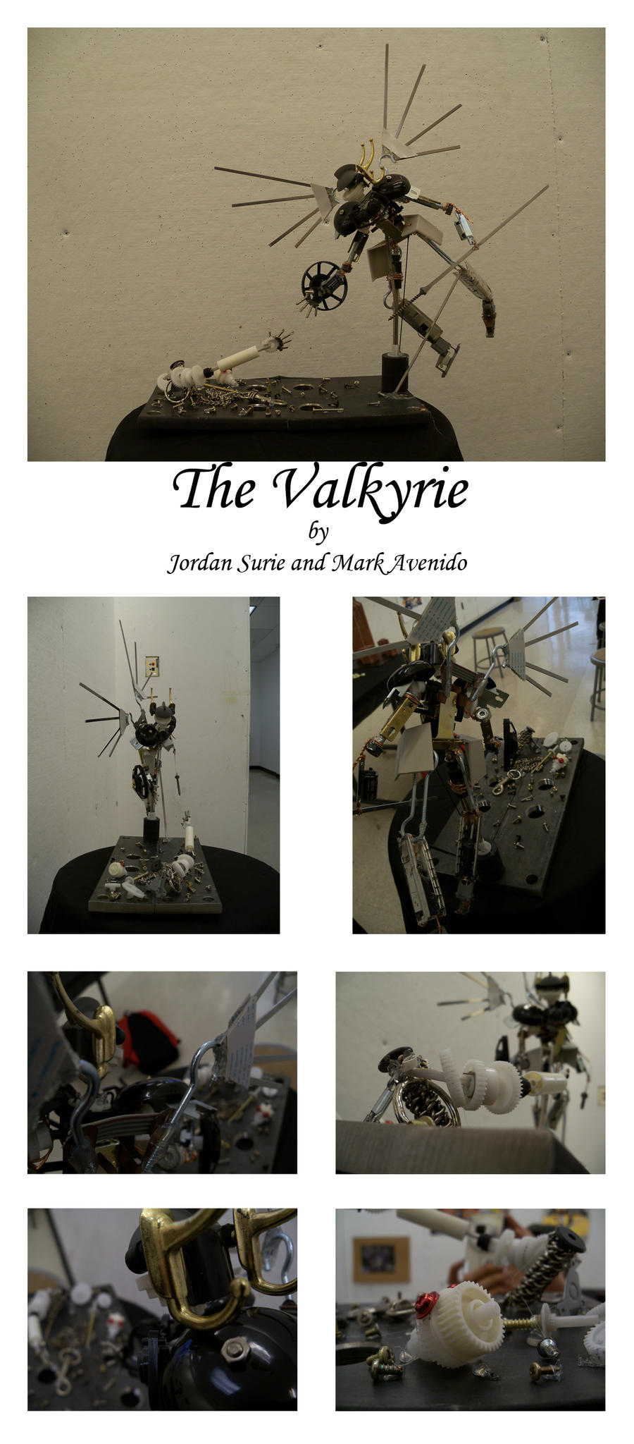 Valkyrie Statue by Dancing-Sword
