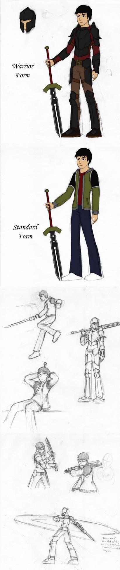 The Dancing Sword Sketches by Dancing-Sword