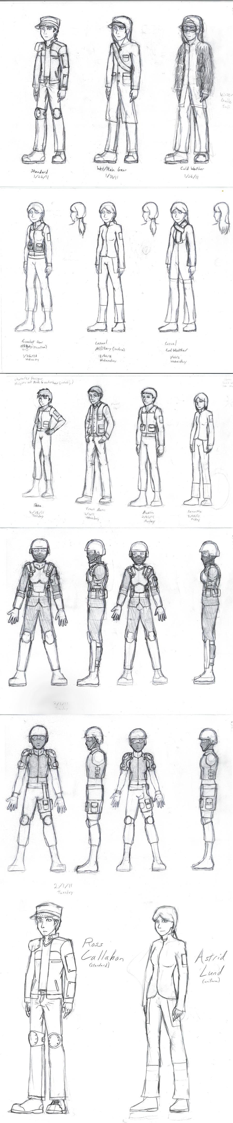 Ross Comic Sketches by Dancing-Sword