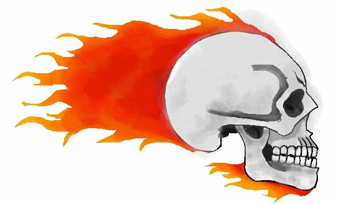 Fire skull by gallia101 on deviantart fire skull by gallia101 voltagebd Choice Image