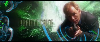 Horatio Caine - CSI Miami by LouneRouge