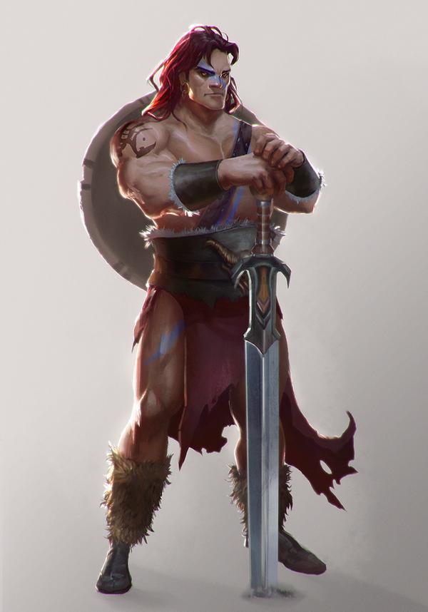 Barbarian by T-razz