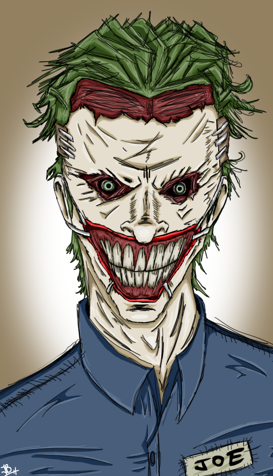 The Joker (New 52, Death of the Family Version) by ...New 52 Joker Wallpaper