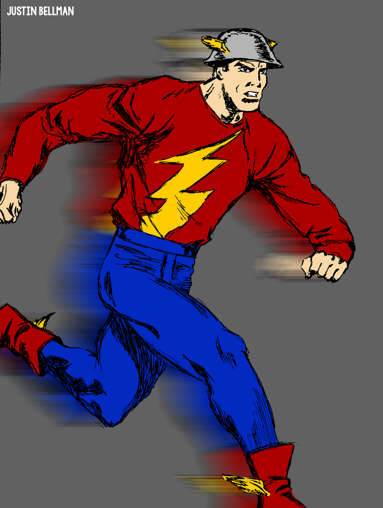 jay garrick flash coloring pages - photo#33