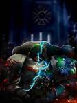 Alpha Legion Artwork - Omegons Wrath Deathwing