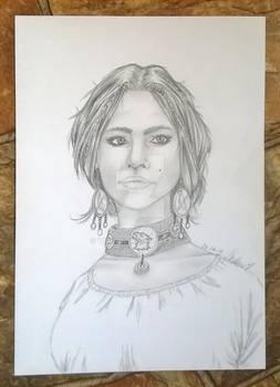portrait Enya