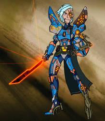 Cyborg Crusader by Demarishia