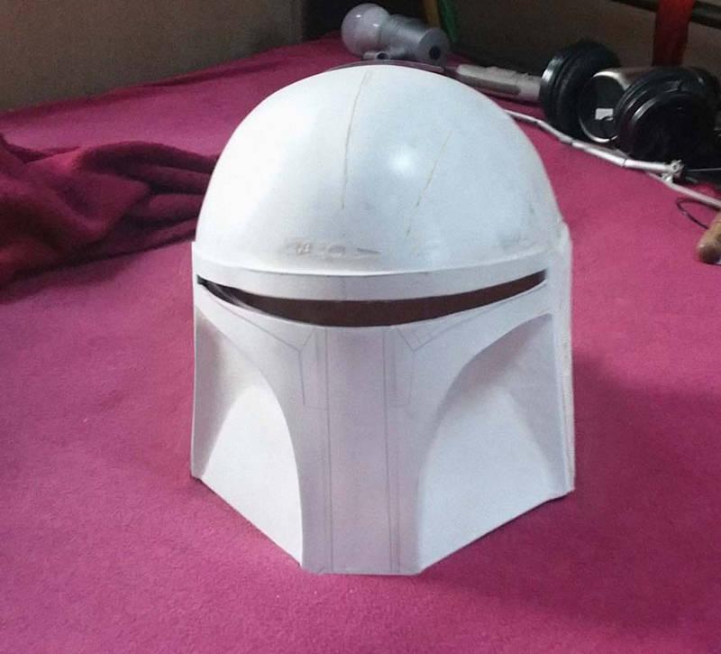 Mandalorian Helmet (WIP) by Demarishia
