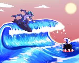 DAITEN SUMMER EVENT PROMPT 2: BEACH FUN/ SURFING