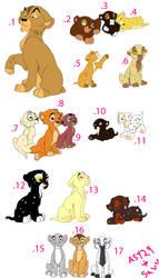 Lion cub adoptables OPEN 2 points!!!!