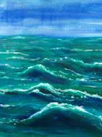 Ocean Waves by Frasee