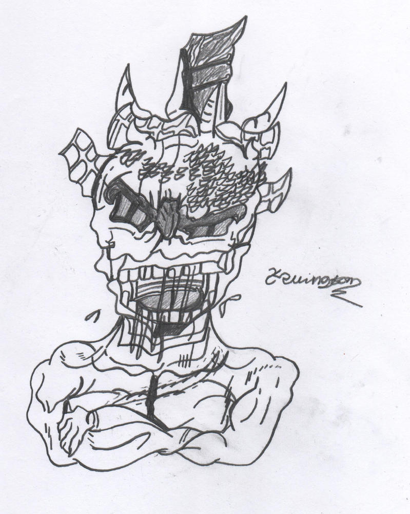 Akuman by Designgraphicboy