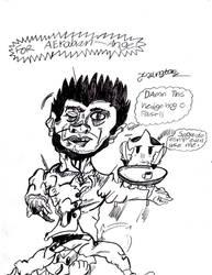 Shemu Vs Sonic by Designgraphicboy