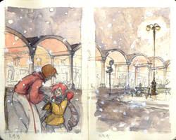 Sketchbook 4 by Aileen-Kailum