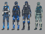 Soldier and Cops Desing