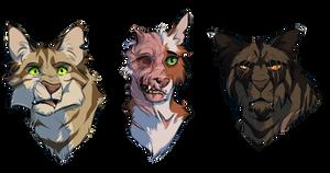 Disfigured Cats (TM) by Raphaelion