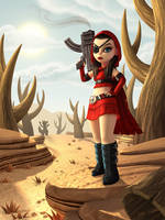 My, what big guns you have. by OminousHam