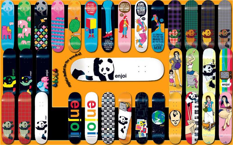 enjoi decks wallpaper by godofcrimson on deviantart