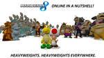 Mario Kart 8 Online In a Nutshell.