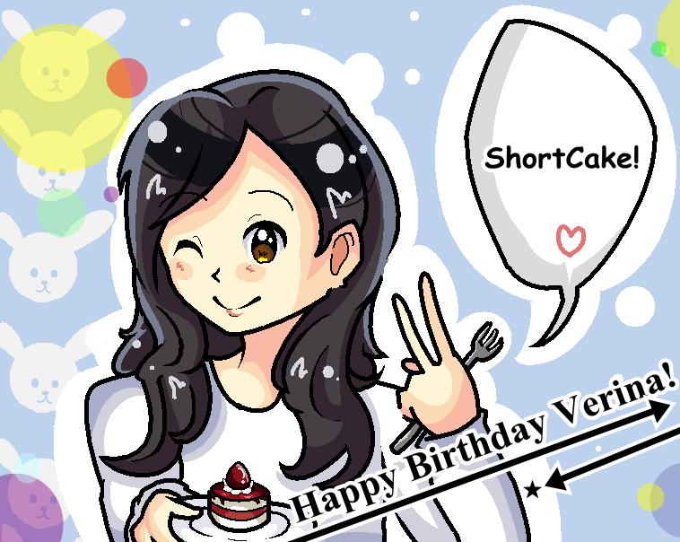 Happy Birthday Verina! by xXHeartAnimeXx