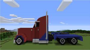 Transformers: Prime Optimus (Truck) - Side