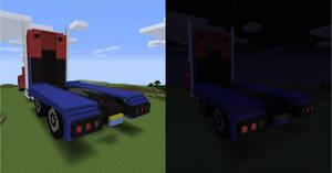 Transformers: Prime Optimus (Truck) - Back