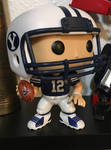 BYU Football Player Pop! Figure