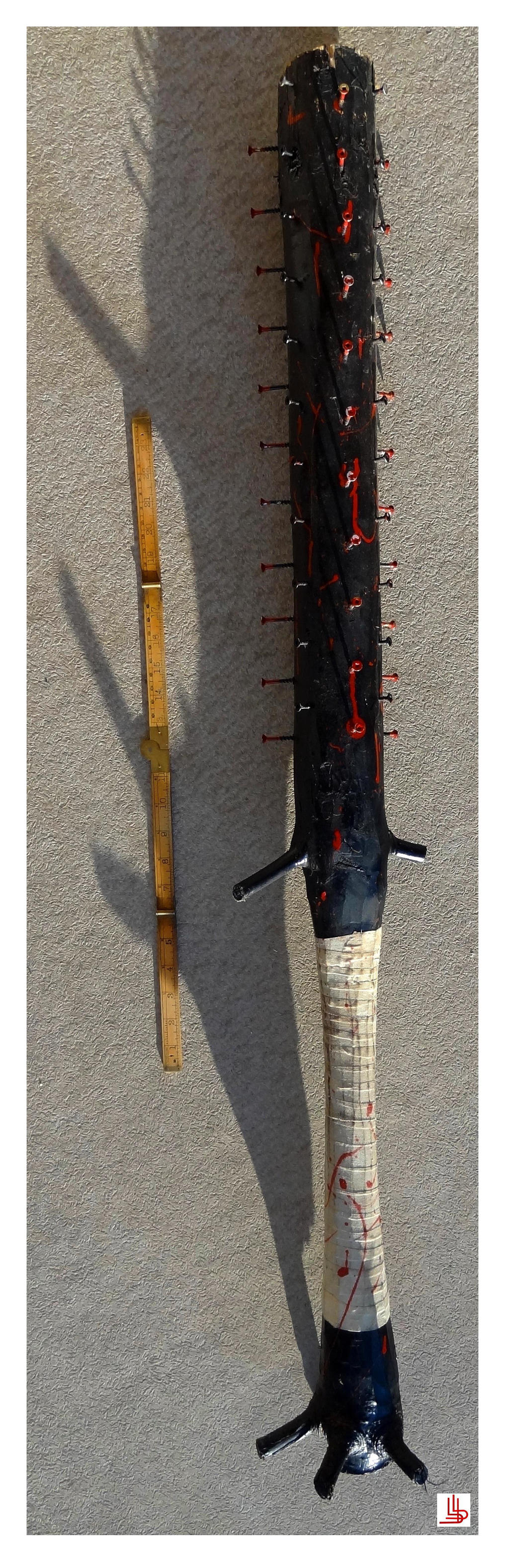Baseball bat from hell by Obsidian-Asphodel