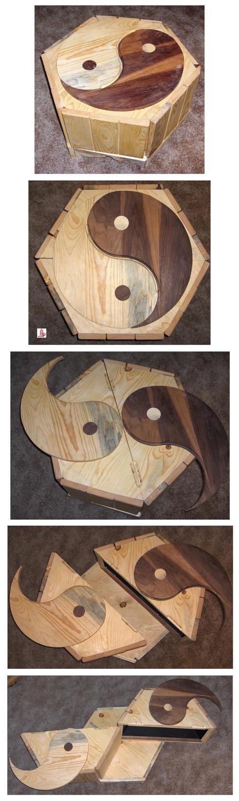 Yin Yang Box by Obsidian-Asphodel
