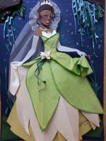 Tianna Princess In cut Papper by RaphaelOda