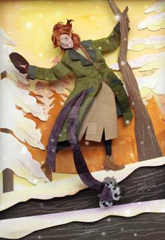 Anastasia in Paper cut