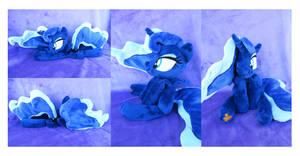 Princess Luna Beanie by KazzysPlushEmporium