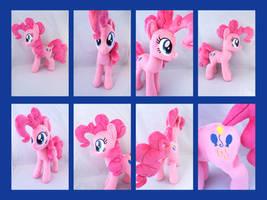14 Inch Pinkie Pie by KazzysPlushEmporium