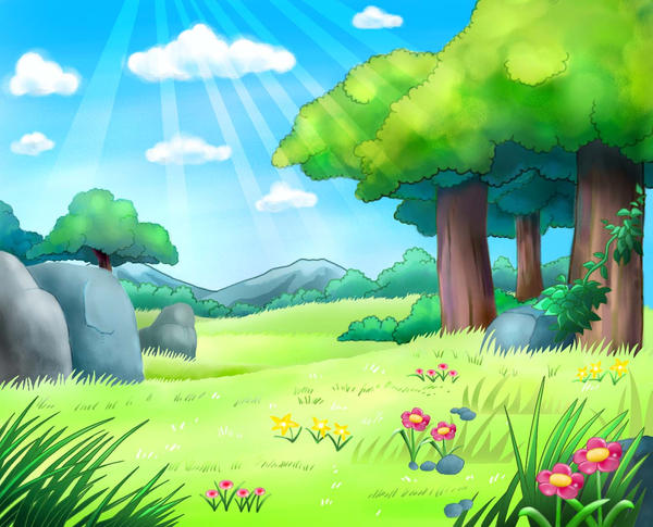 background art for pokemon by orangedroplet on deviantart
