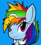(Fashion 6) Rainbow Speedster Dash by Flam3Zero