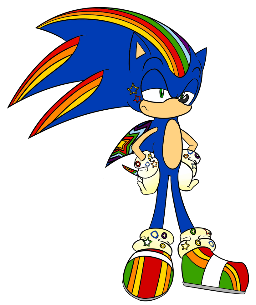 Super Forms Sonic Lilac And Rainbow Dash