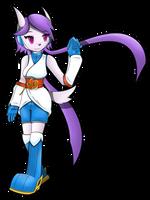 Freedom Planet 2 - Sash Lilac by Flam3Zero