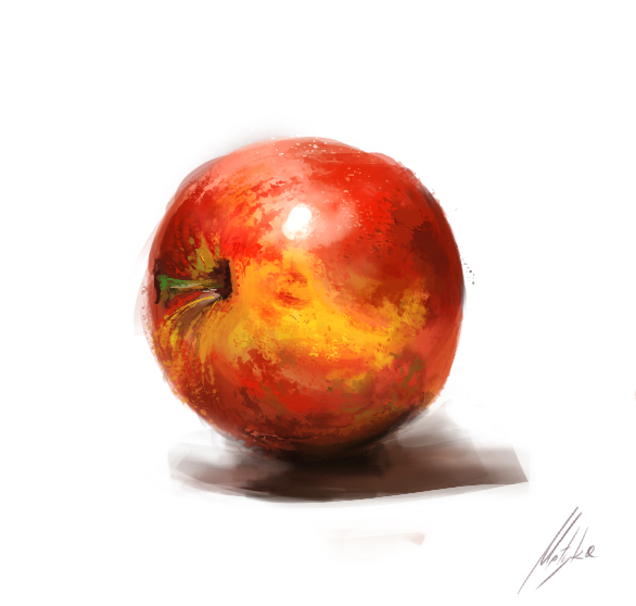 Apple by michalmotyka