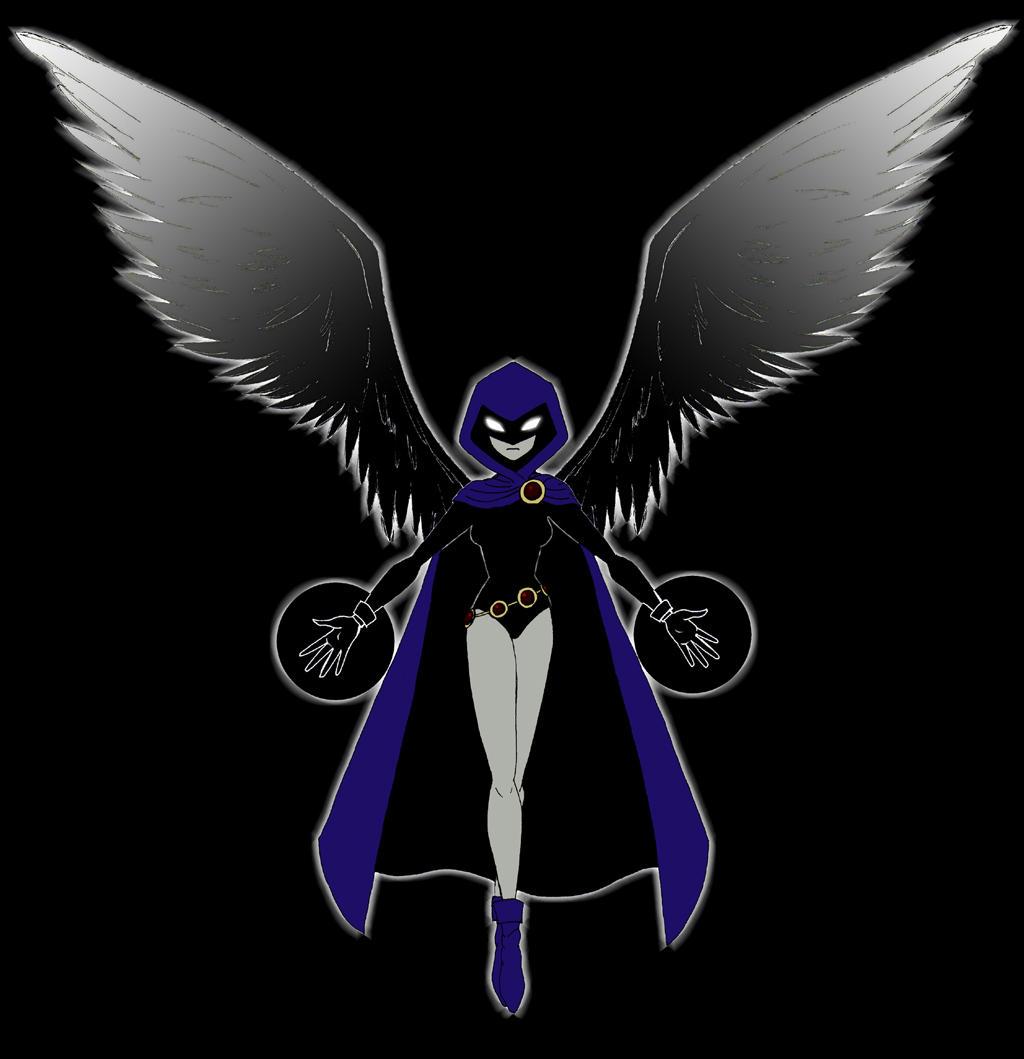 Teen Titans: Raven by TresMaxwell