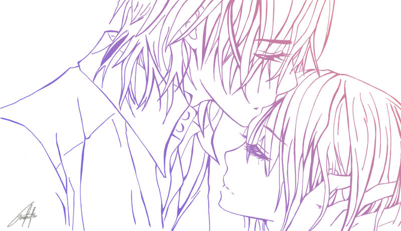vampire knight zero coloring pages - photo#26